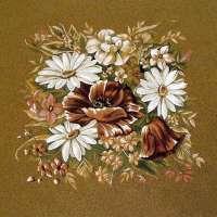 Flowers Beige