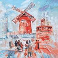 Moulin Rouge Red